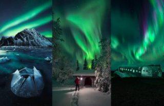 Büyüleyici Kuzey Işıkları yılın fotoğrafçısı...