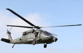 Sabiha Gökçen Havalimanı'nda helikopterin...