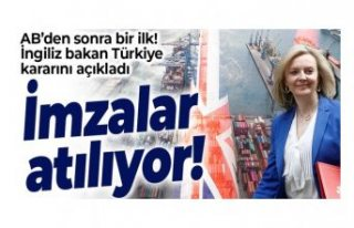 Türkiye ve İngiltere yarın serbest ticaret anlaşması...
