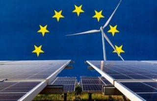Avrupa'da yenilenebilir enerjinin payı ilk kez...