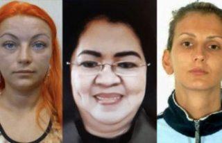 Avrupa'nın en tehlikeli 3 kadını aranıyor