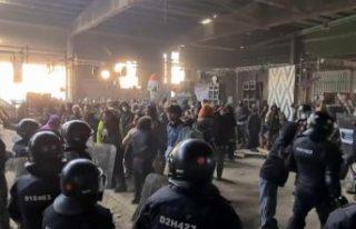 Çılgın yılbaşı partisi 36 saat sonra polis baskını...