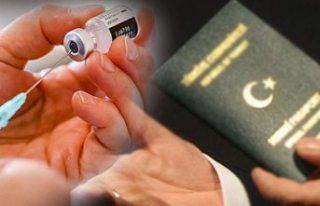 Çin aşısı olan Türkler vize alıp AB'ye...