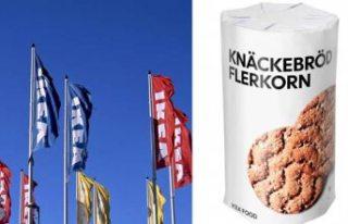 IKEA zehirli gaz şüphesiyle, gevrek ekmek satışını...