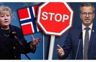 İsveç, yarından itibaren Norveç'ten girişleri...