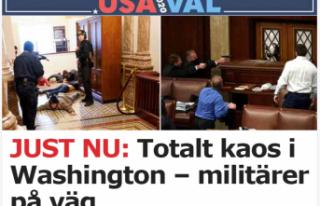 İsveç, ABD'deki olaylardan dolayı derin endişeli