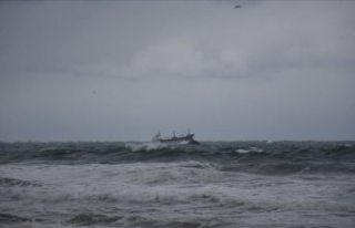 Karadeniz'de Rus bandıralı yük gemisi battı