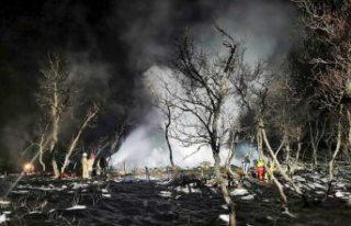 Kır evinde çıkan korkunç yangın iki can aldı:...