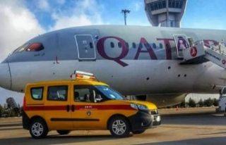 Bir yolcunun aniden rahatsızlanması sonucu uçak...