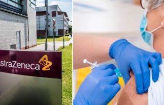 65 yaş üstü İsveçliler için Astra Zeneca aşısı...