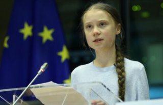 Polis İsveçli iklim aktivisti Thunberg hakkında...