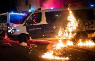 Rapçi Hasel protestoları şiddete dönüştü, 10...