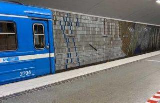 Stockholm metrosunda büyük aksamalar meydana geldi