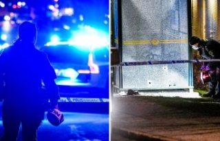 Stockholm'de bir kişi sivil polis tarafından...