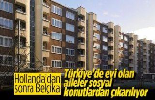 Belçika, aralarında Türklerin de olduğu 25 aileyi...