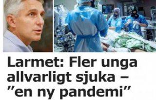 İsveç'te mutasyon virüsleri gençler arasında...