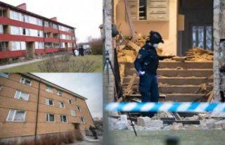 İsveç'te şiddetli patlama! 40 ev hasar gördü