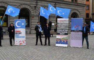 Uygur Türkleri, İsveç'ten Çin'in uygulamalarını...