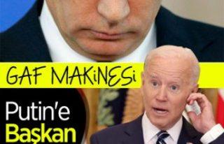 ABD Başkanı Joe Biden, Putin yerine 'Klutin'...