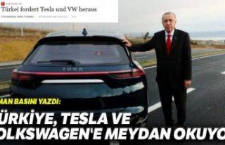 Alman basını: Türkiye yerli otomobille Tesla ve...