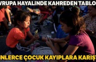 Avrupa'da 3 yılda 18 binden fazla refakatsiz çocuk...