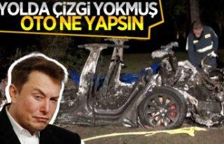 Elon Musk, iki kişinin öldüğü Tesla kazası hakkında...