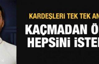 Faruk Fatih Özer'in kardeşleri açıkladı:...