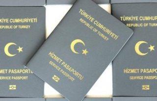 Gri pasaport ile Avrupa'ya adam kaçırma şüphesiyle...
