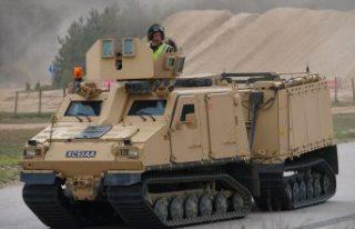 İsveç, Avrupa'nın BvS10 zırhlı araç programına...