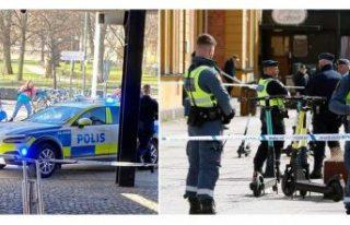 Metro'da bıçaklı saldırı bir kadın yaşamını...