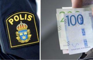 Stockholm'de sahte kadın polis yakalandı