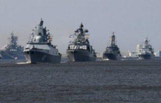 Ukrayna gerilimi sonrası Karadeniz'de savaş...