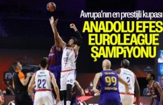 Barcelona'yı mağlup eden Anadolu Efes EuroLeague...