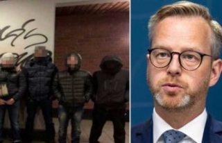 İçişleri bakanı Mikael Damberg'den suç çeteleriyle...