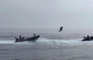 İngiltere donanması 'uçan askerleri'...