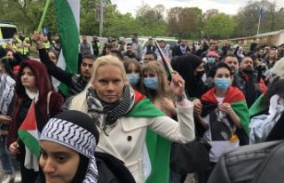 İsveç'te ikinci kez İsrail'in Filistinlilere...
