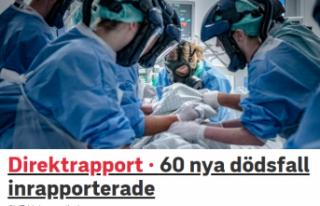 İsveç'te son 24 saatte koronavirüsten 60 ölüm