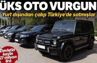 Lüks otomobil kaçakçılığı operasyonu: 24 araç...