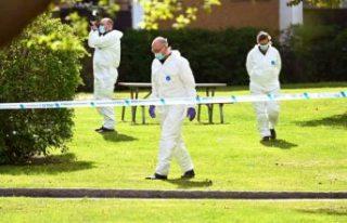 Stockholm'de bir kişi evin bahçesinde ölü...