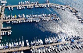 Turizm teknelerinde 'mavi bayraklı' dönem...