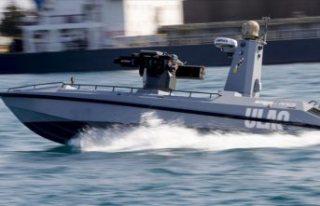 Türkiye'nin ilk silahlı insansız deniz aracı,...