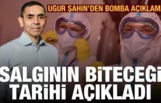 Uğur Şahin koronavirüs pandemisinin sona ereceği...