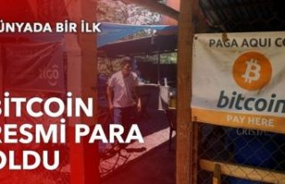 Dünyada ilk: Bitcoin'i yasal hale getirdi