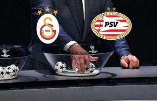 Galatasaray'ın UEFA Şampiyonlar Ligi 2. ön...