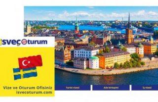 İsveç'te aile birleşimi ve çalışma oturumu...