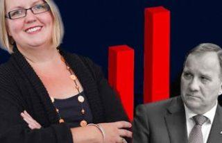 Kadın belediye başkanının maaşı başbakan Löfven'den...