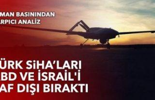 Türk SİHA'larına bir övgü daha: ABD ve İsrail'i...