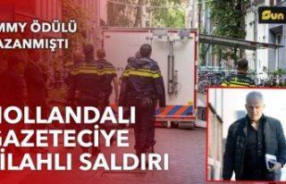Hollandalı gazeteci Vries'e silahlı saldırı