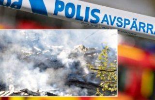 İsveç'te yanan villanın enkazından bir ceset...