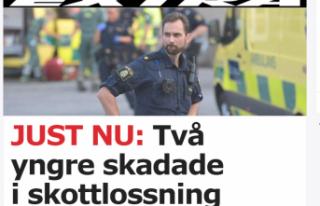 Stockholm'de 2 genç vuruldu